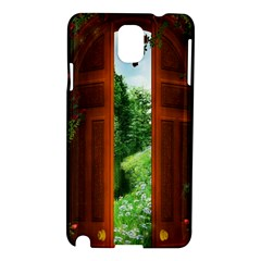 Beautiful World Entry Door Fantasy Samsung Galaxy Note 3 N9005 Hardshell Case