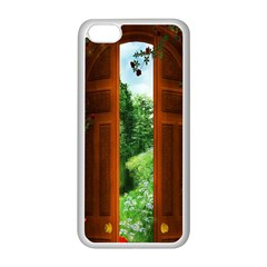 Beautiful World Entry Door Fantasy Apple Iphone 5c Seamless Case (white)