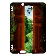 Beautiful World Entry Door Fantasy Kindle Fire Hdx Hardshell Case