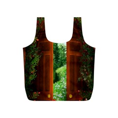 Beautiful World Entry Door Fantasy Full Print Recycle Bags (s)