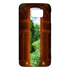 Beautiful World Entry Door Fantasy Galaxy S6