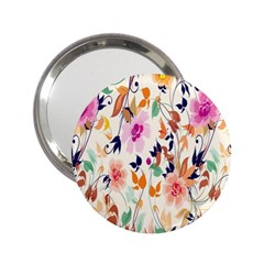 Vector Floral Art 2 25  Handbag Mirrors