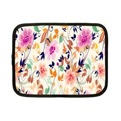 Vector Floral Art Netbook Case (small)