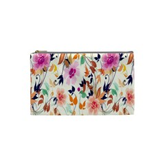Vector Floral Art Cosmetic Bag (Small)