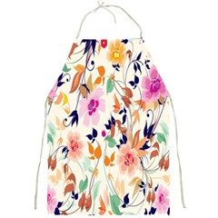 Vector Floral Art Full Print Aprons