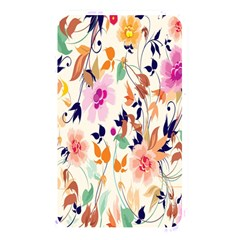 Vector Floral Art Memory Card Reader