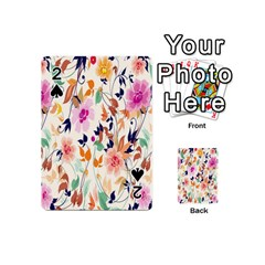 Vector Floral Art Playing Cards 54 (mini)