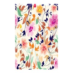 Vector Floral Art Shower Curtain 48  X 72  (small)