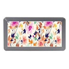 Vector Floral Art Memory Card Reader (mini)