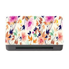 Vector Floral Art Memory Card Reader with CF