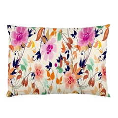 Vector Floral Art Pillow Case (two Sides)