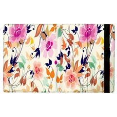 Vector Floral Art Apple Ipad 3/4 Flip Case