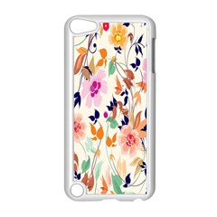 Vector Floral Art Apple Ipod Touch 5 Case (white)