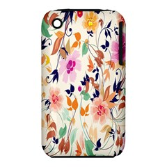 Vector Floral Art Iphone 3s/3gs