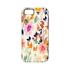 Vector Floral Art Apple Iphone 5 Classic Hardshell Case (pc+silicone)