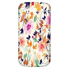 Vector Floral Art Samsung Galaxy S3 S Iii Classic Hardshell Back Case