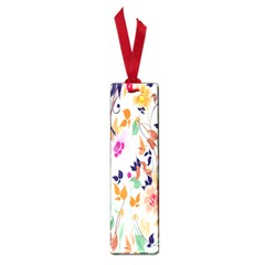 Vector Floral Art Small Book Marks
