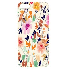Vector Floral Art Apple iPhone 5 Hardshell Case with Stand