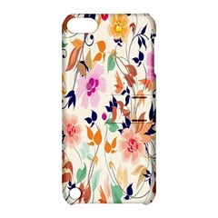 Vector Floral Art Apple Ipod Touch 5 Hardshell Case With Stand