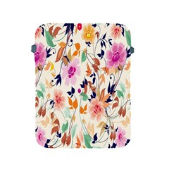 Vector Floral Art Apple Ipad 2/3/4 Protective Soft Cases