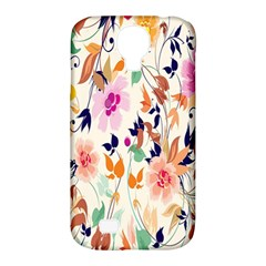 Vector Floral Art Samsung Galaxy S4 Classic Hardshell Case (pc+silicone)