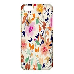 Vector Floral Art Apple Iphone 5c Hardshell Case