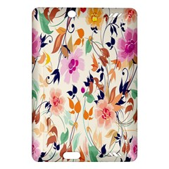 Vector Floral Art Amazon Kindle Fire Hd (2013) Hardshell Case