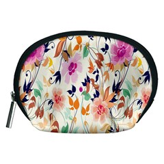 Vector Floral Art Accessory Pouches (medium)