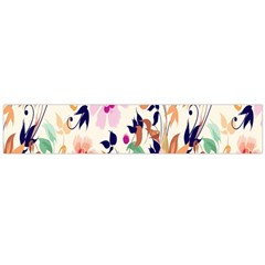 Vector Floral Art Flano Scarf (large)