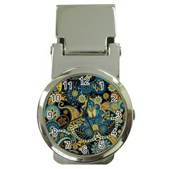 Retro Ethnic Background Pattern Vector Money Clip Watches