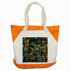 Retro Ethnic Background Pattern Vector Accent Tote Bag