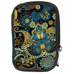 Retro Ethnic Background Pattern Vector Compact Camera Cases