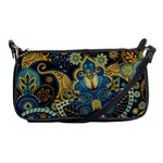 Retro Ethnic Background Pattern Vector Shoulder Clutch Bags Front