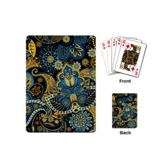 Retro Ethnic Background Pattern Vector Playing Cards (mini)