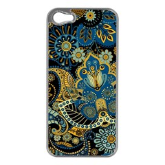 Retro Ethnic Background Pattern Vector Apple Iphone 5 Case (silver)