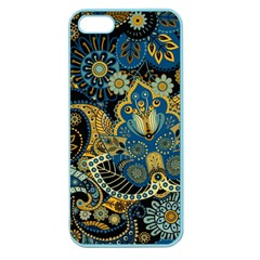 Retro Ethnic Background Pattern Vector Apple Seamless Iphone 5 Case (color)