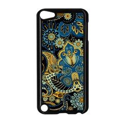Retro Ethnic Background Pattern Vector Apple Ipod Touch 5 Case (black)