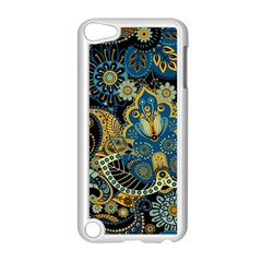 Retro Ethnic Background Pattern Vector Apple Ipod Touch 5 Case (white)