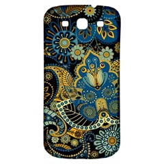 Retro Ethnic Background Pattern Vector Samsung Galaxy S3 S Iii Classic Hardshell Back Case