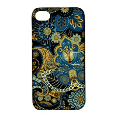 Retro Ethnic Background Pattern Vector Apple Iphone 4/4s Hardshell Case With Stand