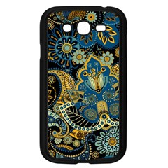 Retro Ethnic Background Pattern Vector Samsung Galaxy Grand Duos I9082 Case (black)