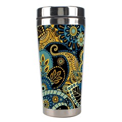 Retro Ethnic Background Pattern Vector Stainless Steel Travel Tumblers