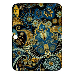 Retro Ethnic Background Pattern Vector Samsung Galaxy Tab 3 (10 1 ) P5200 Hardshell Case