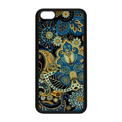 Retro Ethnic Background Pattern Vector Apple iPhone 5C Seamless Case (Black)
