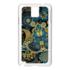 Retro Ethnic Background Pattern Vector Samsung Galaxy Note 3 N9005 Case (white)