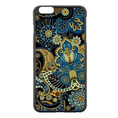 Retro Ethnic Background Pattern Vector Apple iPhone 6 Plus/6S Plus Black Enamel Case