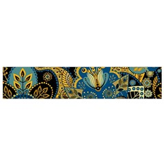 Retro Ethnic Background Pattern Vector Flano Scarf (small)