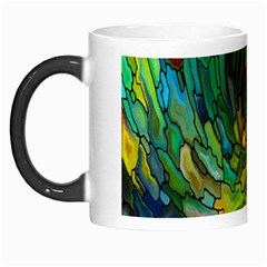 Stained Glass Patterns Colorful Morph Mugs
