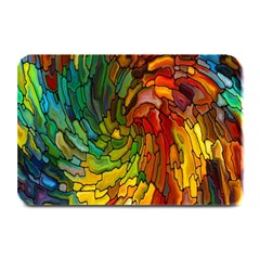 Stained Glass Patterns Colorful Plate Mats