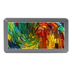 Stained Glass Patterns Colorful Memory Card Reader (Mini)